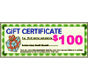 Gift Certificate/Voucher $100.00